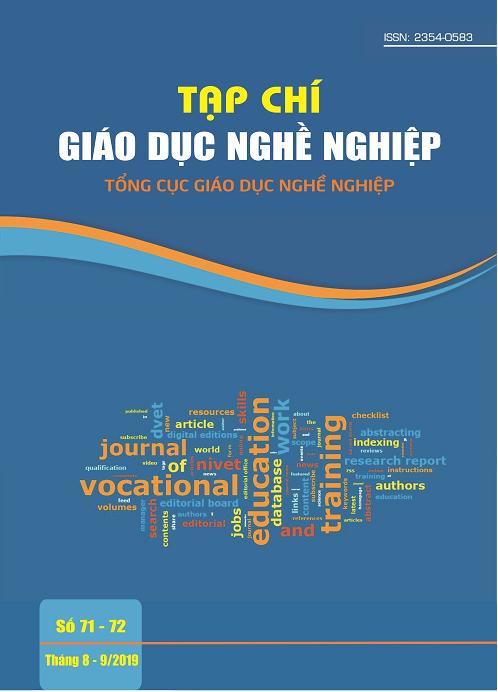Tạp chí Giáo dục nghề nghiệp số 71-72