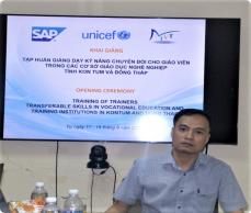 """Tập huấn giảng dạy """"Kỹ năng chuyển đổi"""" cho các giáo viên trong các cơ sở Giáo dục nghề nghiệp (tỉnh Kon Tum – tỉnh Đồng Tháp)"""
